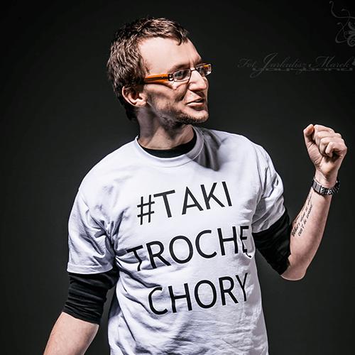 Jacek Noch stand up, agencja manager