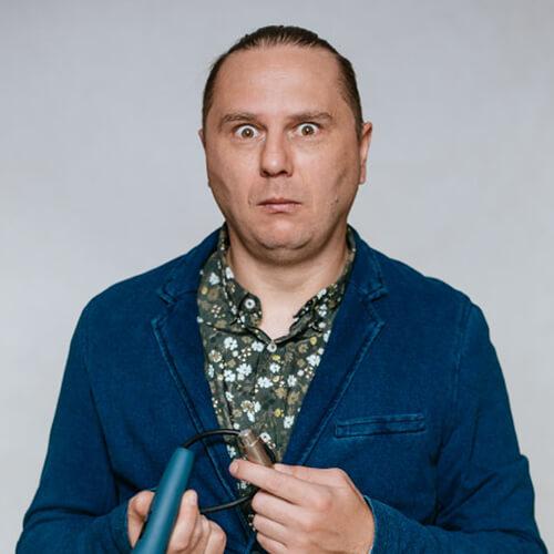 Bartosz Gajda, stand up